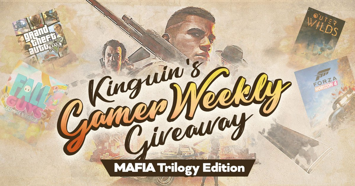 Kinguin Gamer's Giveaway: Mafia Trilogy Edition feat. Crisgree, Braxxter & Shaunz