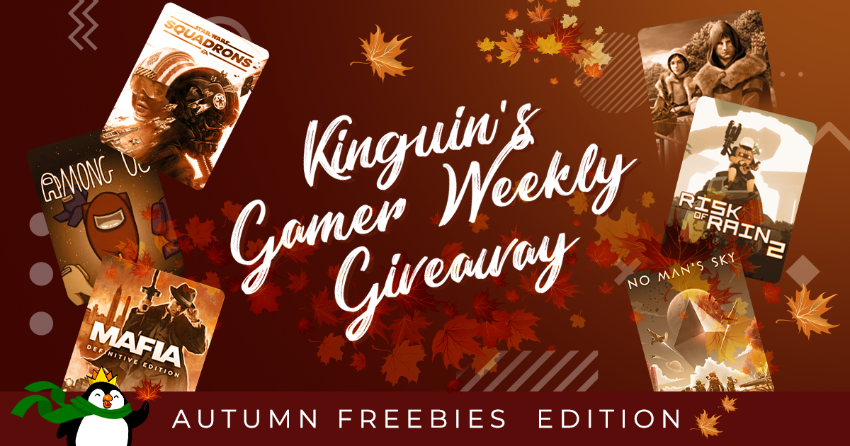 Kinguin Gamer's Giveaway: Autumn Freebies Edition
