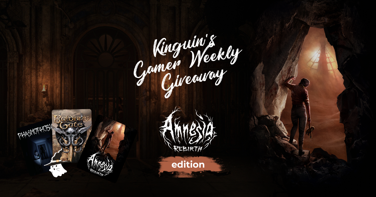 Kinguin Gamer's Giveaway: Amnesia Rebirth Edition