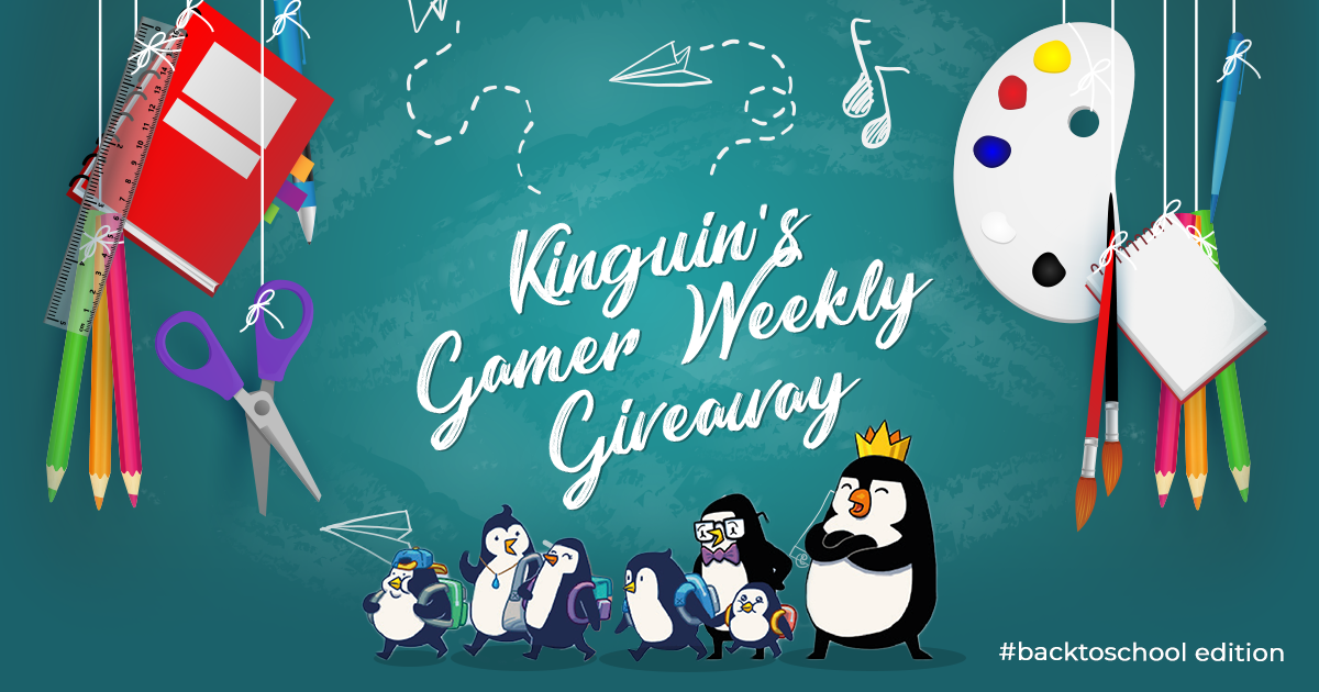 Kinguin Gamer's Giveaway: Back to School feat Luure and Cade