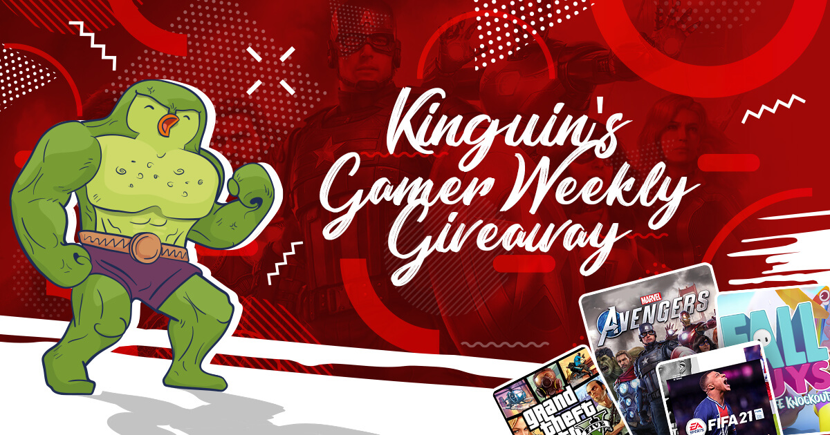 Kinguin Gamer's Giveaway: Marvel's Avengers Edition feat. Beardageddon, Perxitaa and Gafi
